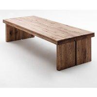 Dublin 260cm Wooden Dining Table in Solid Bassano Oak