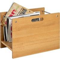 Eagle Wooden Magazine Rack In Beech