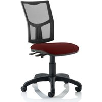 Product photograph showing Eclipse Ii Mesh Back Office Chair In Ginseng Chilli No Arms
