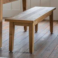 Elvedon Wooden Dining Bench In Oak