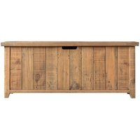 Elvedon Wooden Hallway Storage Bench In Oak