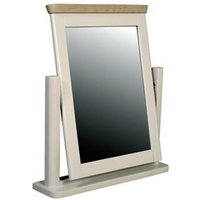 Empire Dressing Mirror With Painted Frame