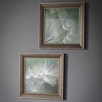 Floweret Set of 2 Framed Wall Art