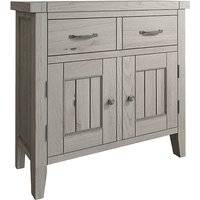 Floyd Small Wooden 2 Doors And 2 Drawers Sideboard In Grey Oak