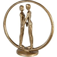 Forever Iron Design Sculpture In Gold