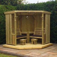 Product photograph showing Fresta Wooden Occaisonal Seating Garden Room