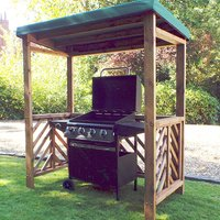Gesta Dorchester BBQ Shelter In Green
