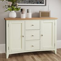 Gilford Wooden 2 Doors 3 Drawers Sideboard In White