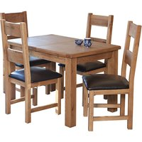Hampshire Extending Dining Set With 4 Chairs