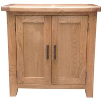Hampshire Wooden Storage Cupboard In Oak