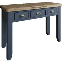 Hants Wooden Dressing Table With Mirrror In Blue