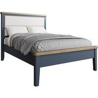 Hants Fabric Headboard Low End King Size Bed In Blue
