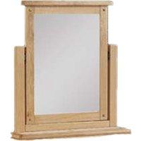 Heaton Dressing Mirror With Oak Frame