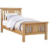 Heaton Wooden Single Bed In Oak