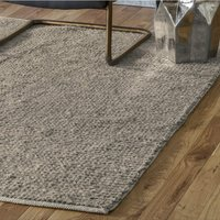 Product photograph showing Imposta Polyster And Wool Fabric Rug In Beige