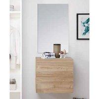 Infra Wooden Bathroom Furniture Set In Stelvio Walnut