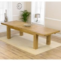 Irena Large Wooden Extending Dining Table In Oak
