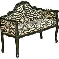 Italian Miniature Lounge Chaise Chair In Gloss Black