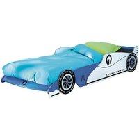 Italic Boys Childrens Car Bed In Blue