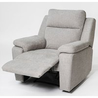 Product photograph showing Jackson Fabric Recliner Armchair In Beige