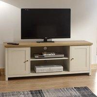 Lancaster Wooden Large TV Unit In Cream