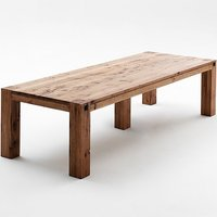 Leeds Large Wooden Dining Table In Oak Bassano