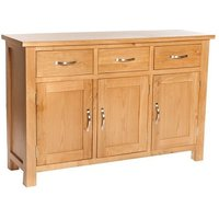 Lexington Wooden Sideboard In Oak With Storage
