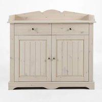 Lotta Kids Wooden Storage Changing Unit In White Wash