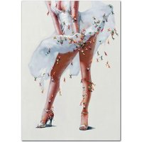 Product photograph showing Marilyn Monroe 3d Canvas Wall Art