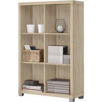 image-Marios Wooden Low Bookcase In Light Oak
