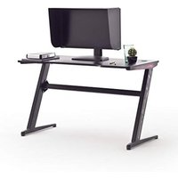 McRacing Black Wooden Computer Desk With LED
