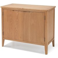 Melton Wooden Sideboard In Natural Oak With 2 Doors