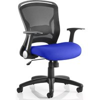 Mendes Contemporary Office Chair In Serene With Castors