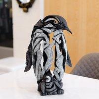Product photograph showing Miram Penguin Edge Sculpture