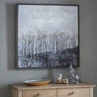 Modern Autumn Forest Framed Wall Art