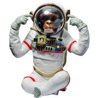 Product photograph showing Monkey Astronaut Figurine Hear No Evil Resin Sculpture