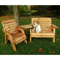 Nepta Kids Bench And Chair Combination Set With Angled Tray