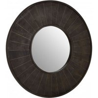 Product photograph showing Nikawiy Wall Bedroom Mirror In Antique Brass Frame