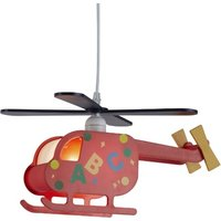 image-Novelty Childrens Helicopter Pendant With Alphabetic Design