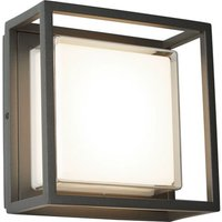 image-Ohio outdoor led square with dark grey opal white