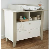 Product photograph showing Orsang Childrens Chest Of Drawers In White With 2 Drawers