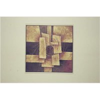 Canvas Painting with Silver Colour Frame