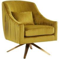 image-Parmelee Upholstered Velvet Bedroom Chair In Pistachio Finish