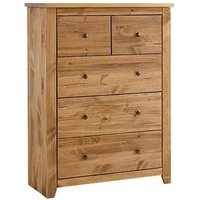 Pascal Chest Of Drawers In Pine Finish
