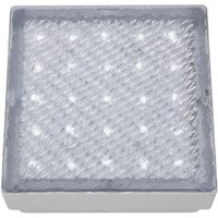 Recessed Square Walkover Light With White LED