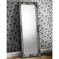 Rococo Lean to Dressing Mirror In Pewter