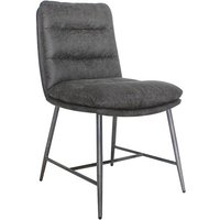Romy Fabric Dining Chair In Hickory