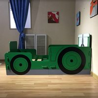 image-Rowan Tractor Ted Junior Toddler Bed In Green