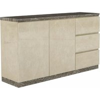 Santino Marble Top Sideboard With 2 Doors And 3 Drawers