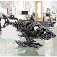 Product photograph showing Sargas Edge Shark Sculpture